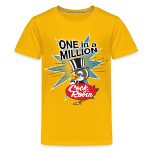 Cock Robin One in a Million! Kid's tee - Kids' Premium T-Shirt