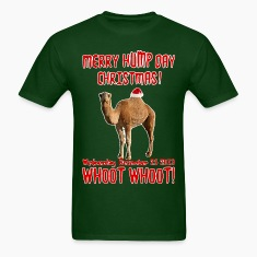 Merry Humpday Christmas Camel