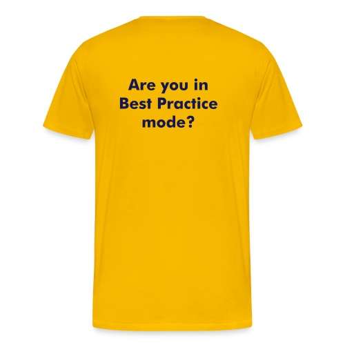 Best Practice - Men's Premium T-Shirt