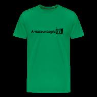 T-Shirts ~ Men's Premium T-Shirt ~ AmateurLogic T-Shirt (Black Logo)