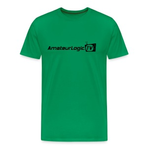 AmateurLogic T-Shirt (Black Logo) - Men's Premium T-Shirt