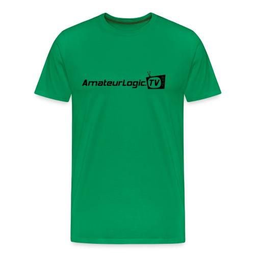 AmateurLogic T-Shirt (Black Logo) - Men's Premium T-Shirt