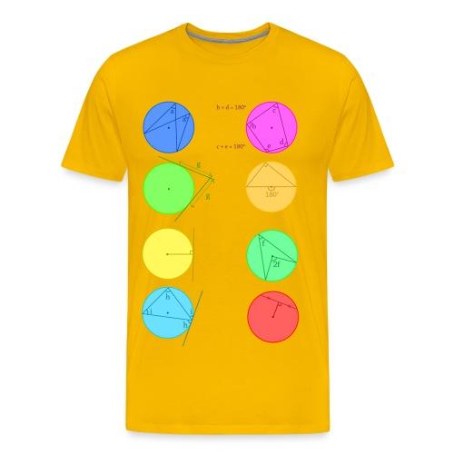 Circle Theorem - Men's Premium T-Shirt