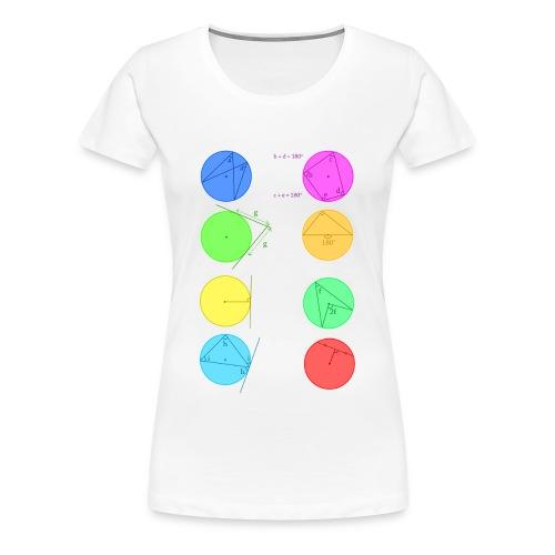 Circle Theorem - Women's Premium T-Shirt