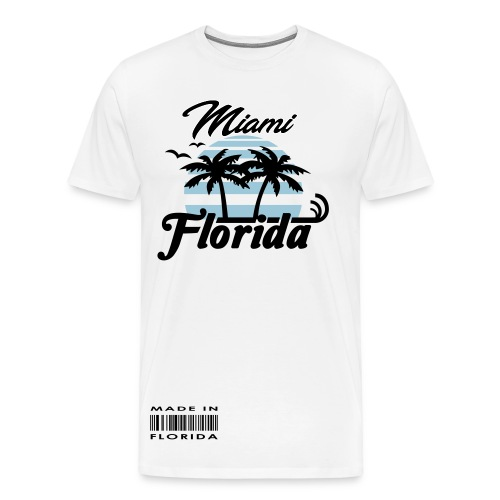 Slaughter Wear Miami T-Shirt - Men's Premium T-Shirt
