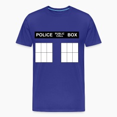 Police Box shirt (front and back)