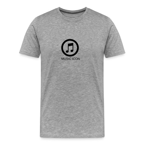 Music Icon Tee - Men's Premium T-Shirt