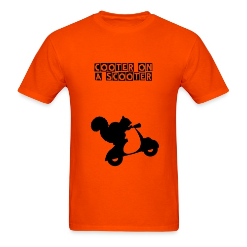 Cooter on a Scooter - Men's T-Shirt
