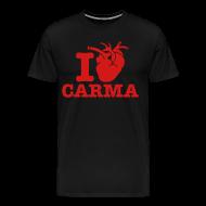 T-Shirts ~ Men's Premium T-Shirt ~ I Heart Carma