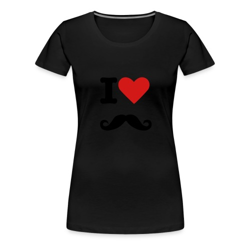 Moustache. - Women's Premium T-Shirt