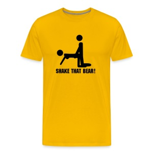 Shake that bear top - Men's Premium T-Shirt