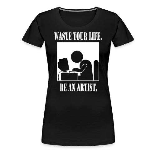 PC Women's Fitted Tee - Women's Premium T-Shirt