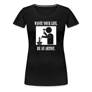 Sculptor Women's Fitted Tee - Women's Premium T-Shirt