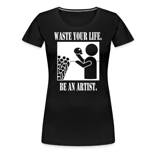 Actor Women's Fitted Tee - Women's Premium T-Shirt