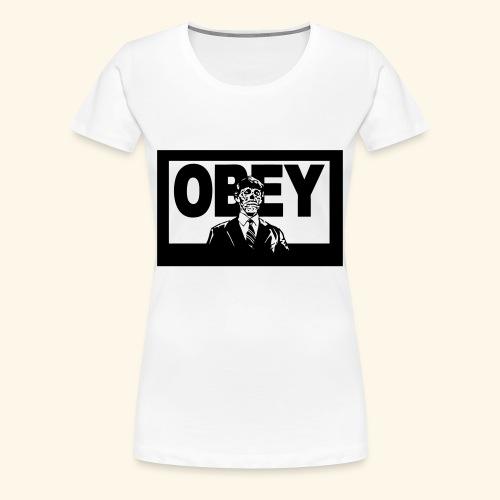 Obey Zombies - Women's Premium T-Shirt