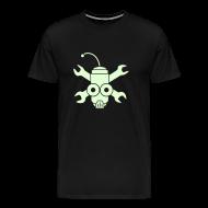 T-Shirts ~ Men's Premium T-Shirt ~ GITD Robo Pirate