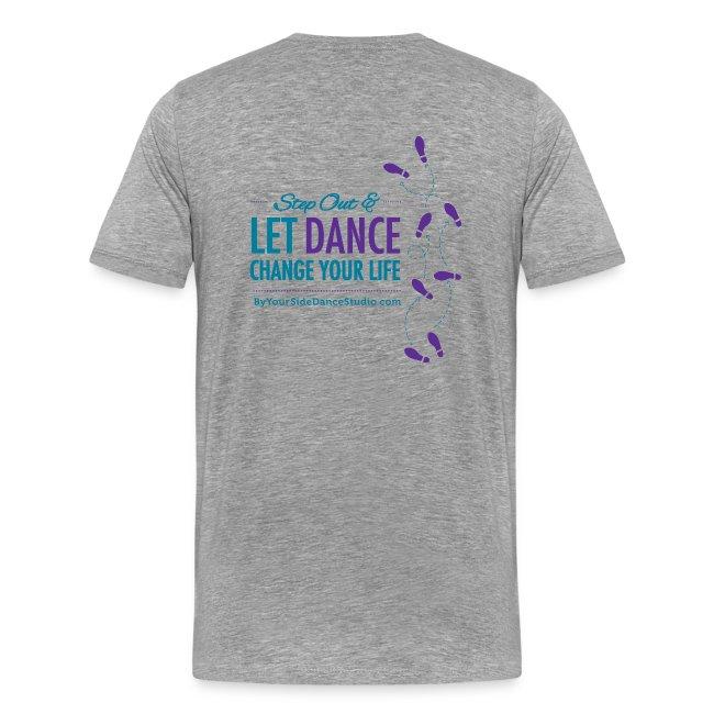 Men's Heavyweight T-Shirt - Let Dance Change Your Life
