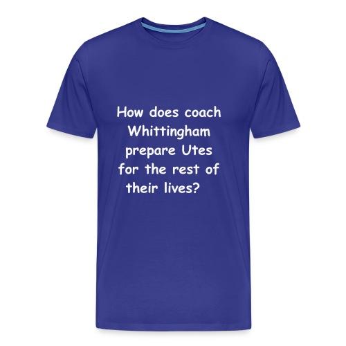 Mens Whittingham teacher - Men's Premium T-Shirt