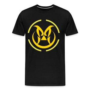 Yellow Logo - Men's Premium T-Shirt