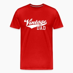 Vintage Dad Design T-Shirt WR