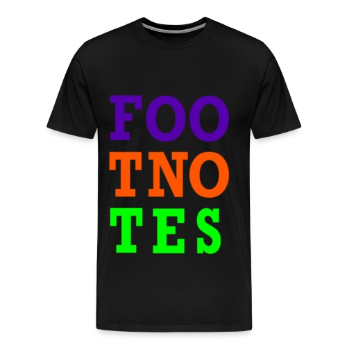 Original Foo Tno Tes T-shirt - Men's - Men's Premium T-Shirt