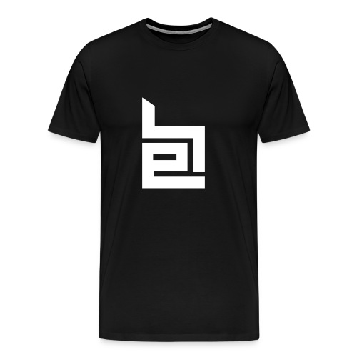 White Logo T-Shirt - Men's Premium T-Shirt