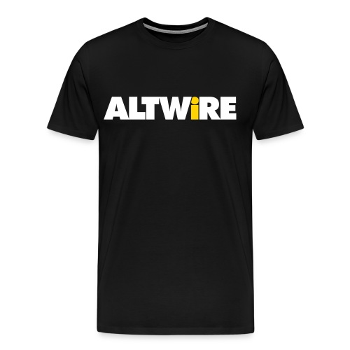 AltWire Men's 3XL & 4XL Shirt - Men's Premium T-Shirt