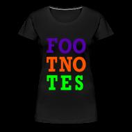 T-Shirts ~ Women's Premium T-Shirt ~ Original Foo Tno Tes Shirt - Women's