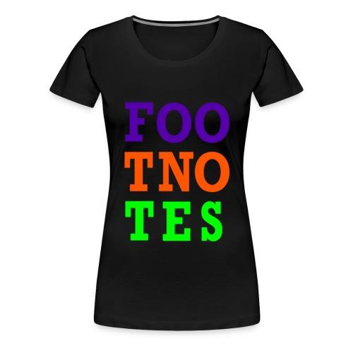 Original Foo Tno Tes Shirt - Women's - Women's Premium T-Shirt