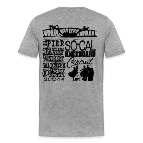 Season Two - Gray Tee - Men's Premium T-Shirt