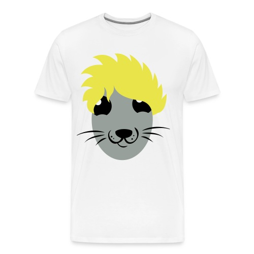 Super Saiyan Guinea Pig men's shirt - Men's Premium T-Shirt