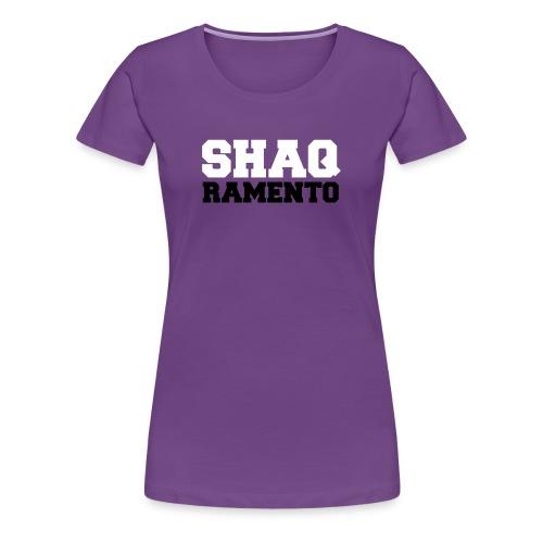 Shaqramento Dos - Women's Premium T-Shirt