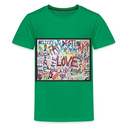 LOVE - Kids - Kids' Premium T-Shirt