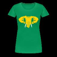 Women's T-Shirts ~ Women's Premium T-Shirt ~ Hellaphant - Women's Fitted Tee