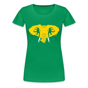 Hellaphant - Women's Fitted Tee - Women's Premium T-Shirt