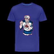 T-Shirts ~ Men's Premium T-Shirt ~ Basil McRae Fighter Tee