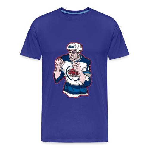 Basil McRae Fighter Tee - Men's Premium T-Shirt