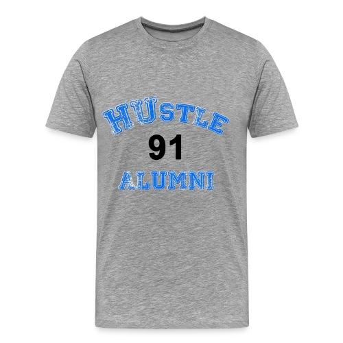 HUstle Alumni 91 - Men's Premium T-Shirt