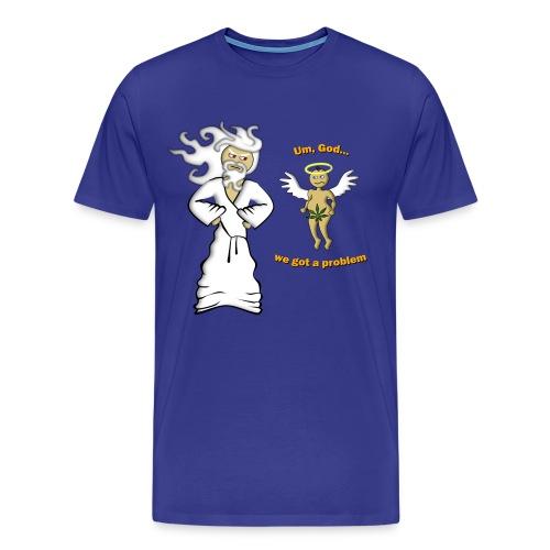 Big Men's We Got a Problem T-Shirt - Men's Premium T-Shirt