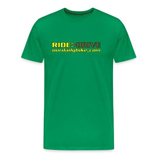 RIDE or DRIVE Men's T-shirt - Men's Premium T-Shirt