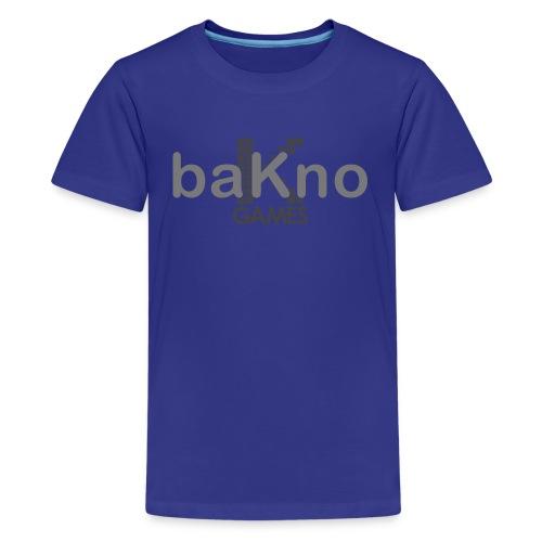 baKno logo t-shirt for kids - Kids' Premium T-Shirt