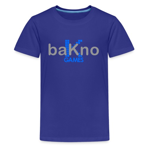 baKno color logo t-shirt for kids - Kids' Premium T-Shirt