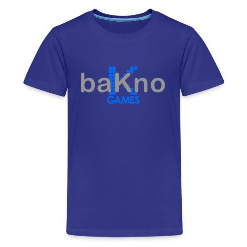 baKno color logo t-shirt for kids - Kids' Premium T-Shirt