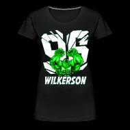 T-Shirts ~ Women's Premium T-Shirt ~ Wilkerson Womens Plus Size T Shirt