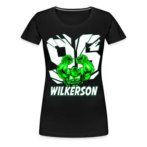 Wilkerson Womens Plus Size T Shirt  - Women's Premium T-Shirt
