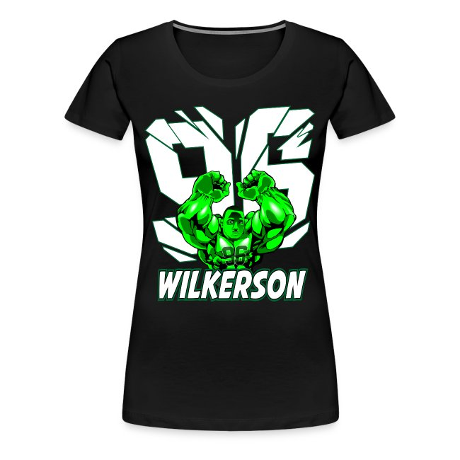 Wilkerson Womens Plus Size T Shirt