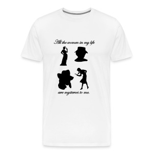 Mystery Women Tee Mens Style #4 - Men's Premium T-Shirt