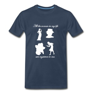 Mystery Women Tee Mens Style #3 - Men's Premium T-Shirt