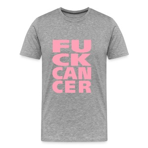 F*CK Cancer - Men's Premium T-Shirt