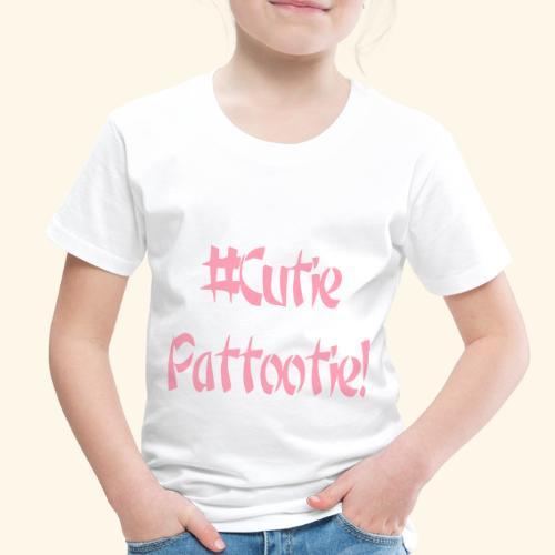 Cutie Pattootie - Toddler Premium T-Shirt